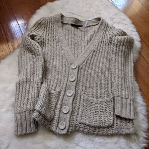 Kensie sweater Cardigan thick chunky loose knit